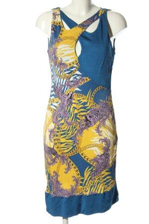 Versace Jeans Jerseykleid Motivdruck Casual-Look