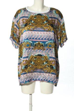 Versace Jeans Kurzarm-Bluse