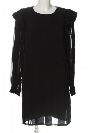 Versace Jeans Langarmkleid schwarz Casual-Look