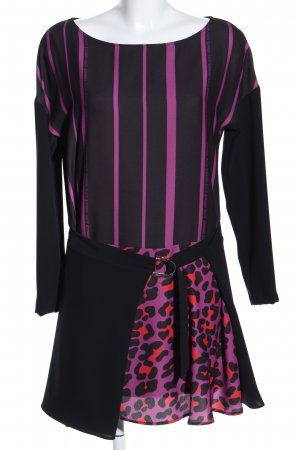 Versace Jeans Haut long motif léopard style décontracté
