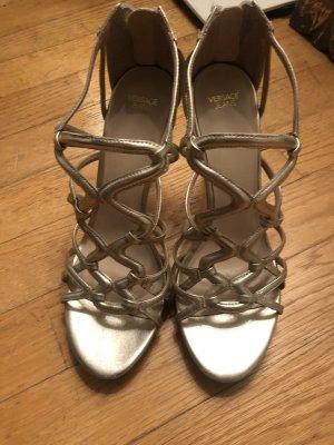 Versace Jeans Pumps Schuhe Gold Größe 41