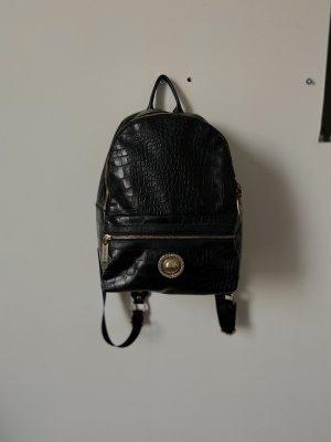 Versace Jeans Mochila escolar negro Poliéster