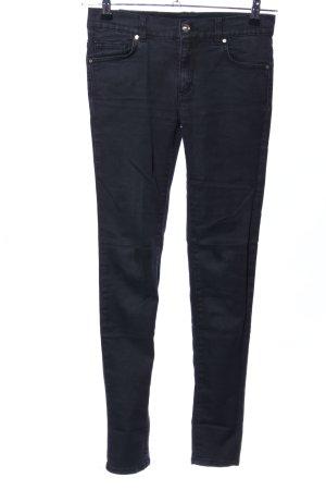 Versace Jeans Skinny Jeans schwarz Casual-Look