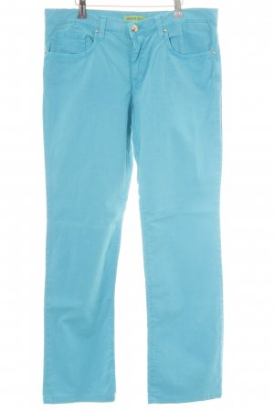 Versace Jeans Stretch Jeans hellblau Glitzer-Optik