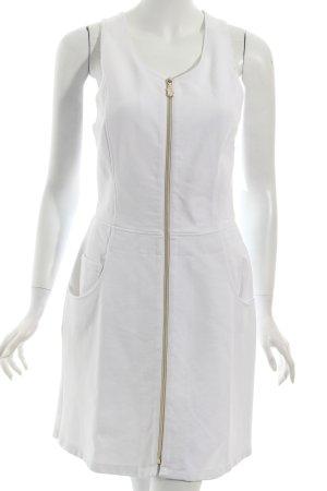 Versace Jeans Trägerkleid weiß Street-Fashion-Look