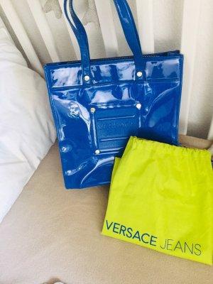 Versace Jeans Shopper neon blauw