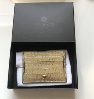Versace Porte-cartes doré