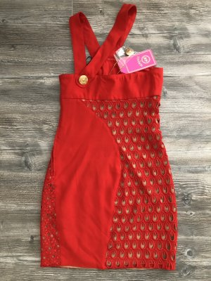 Versace for H&M Mini Dress red