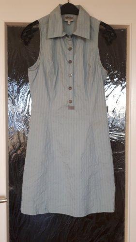 Versace Kleid Gr.XS Hellblau-Weiss