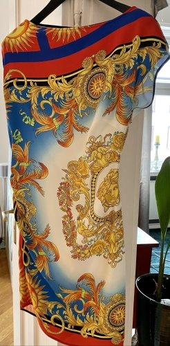 Versace Robe mi-longue multicolore viscose