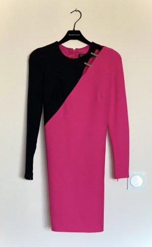 Versace Kleid Pink mit schwarzem Ärmel