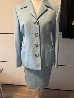 Versace Ladies' Suit turquoise-light blue