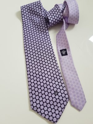 Versace Cravate ascot multicolore