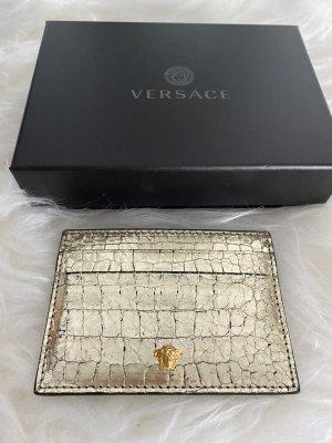Versace Tarjetero color oro