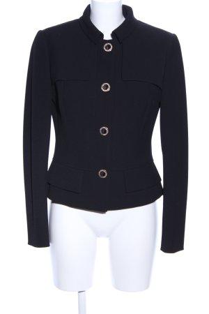 Versace Kurz-Blazer schwarz Business-Look