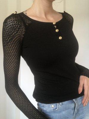 Versace Longsleeve black-gold-colored