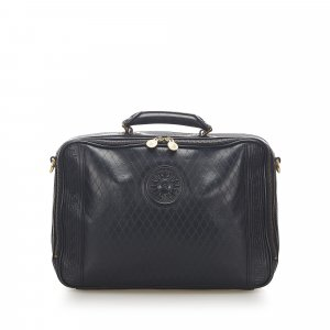 Versace Leather Business Bag