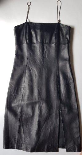 Versace Leder Kleid