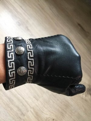 Versace Leather Gloves multicolored leather
