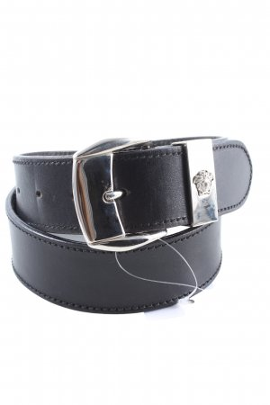 Versace Faux Leather Belt black business style
