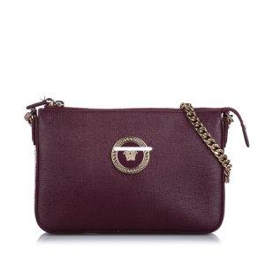 Versace Medusa Leather Crossbody Bag
