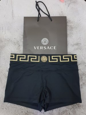 Versace Medusa Mäander Hotpants Shorts Fitness Bademode