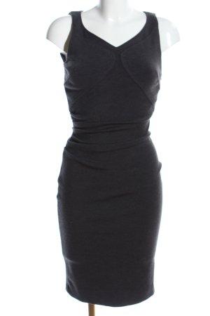 Versace Midikleid schwarz meliert Elegant