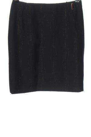 Versace Minigonna nero stile casual
