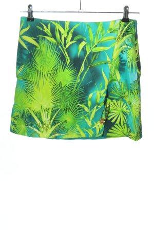 Versace Mini-jupe motif abstrait style décontracté