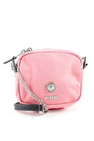 Versace Minitasche pink-schwarz Casual-Look