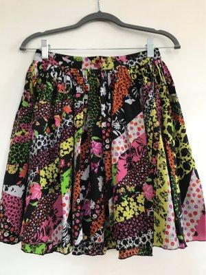 Versace Plaid Skirt multicolored