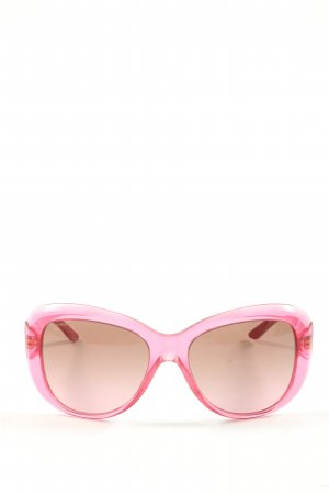 Versace ovale Sonnenbrille pink Casual-Look
