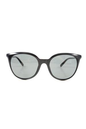 Versace Square Glasses black casual look