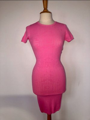 Versace Midi Dress pink