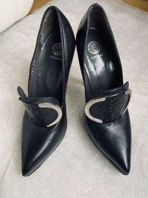 Versace Pumps schwarz High Heels