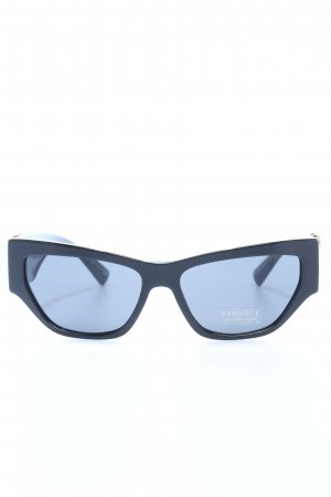 Versace Retro Glasses black casual look