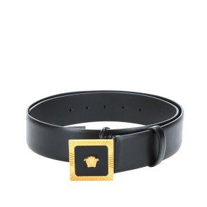 Versace Reversible Medusa Leather Belt