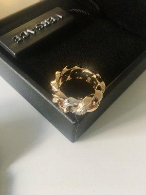 Atelier Versace Gouden ring goud Metaal