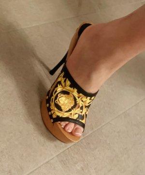 Versace Plateauzool sandalen veelkleurig
