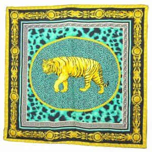 "Versace Scarf ""Tiger Leopard"""
