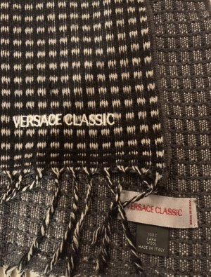 Versace Wollen sjaal veelkleurig