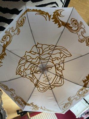 Versace Wandelstokparaplu wit-goud