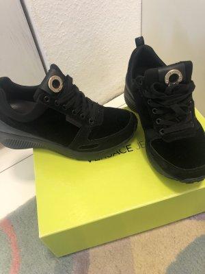 Versace Schuhe samt Stoff neu !