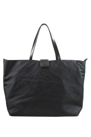 Versace Schultertasche in Schwarz