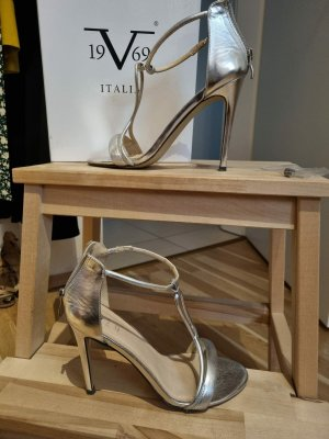 Versace Silber Sandalen 19V69