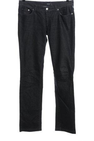 Versace Straight-Leg Jeans blau Casual-Look