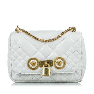 Versace Small Icon Shoulder Bag