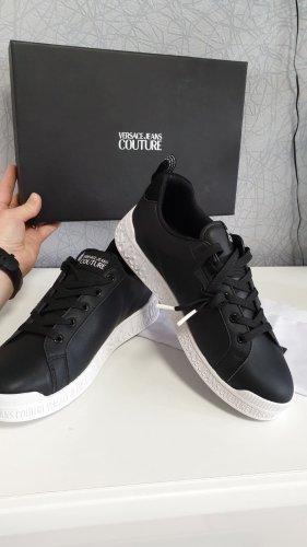Versace Sneakers met veters zwart