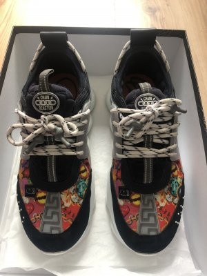 Versace Sneakers Wild Jewels Chain Reaction In Blue