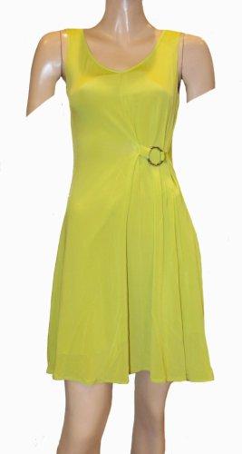 VERSACE Sommer Kleid Neon grün Gr. 34/36